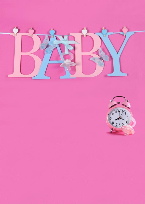 Customize washable wrinkle free baby clock pink wall photography backdrops for newborn photo studio portrait backgrounds S-956 customize washable wrinkle free baby clock pink wall photography backdrops for newborn photo studio portrait backgrounds s 956