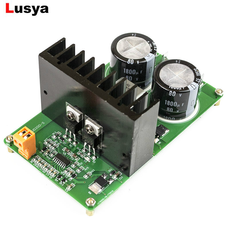 IRAUD200 High Power Digital audio Amplifier Board IRS2092S Mono 500W HI FI amplificador audio finished Board
