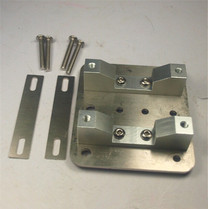 funssor Shapeoko/X carve CNC Z axis router parts stainless steel Universal Spindle Mounting Kit