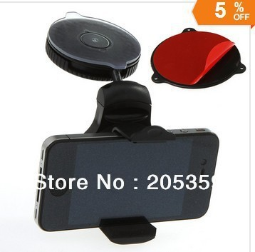Universal Windshield Dashboard Car Holder Mount for iPhone 4 5 Mobile Phone Cellphone GPS PAD Accessories