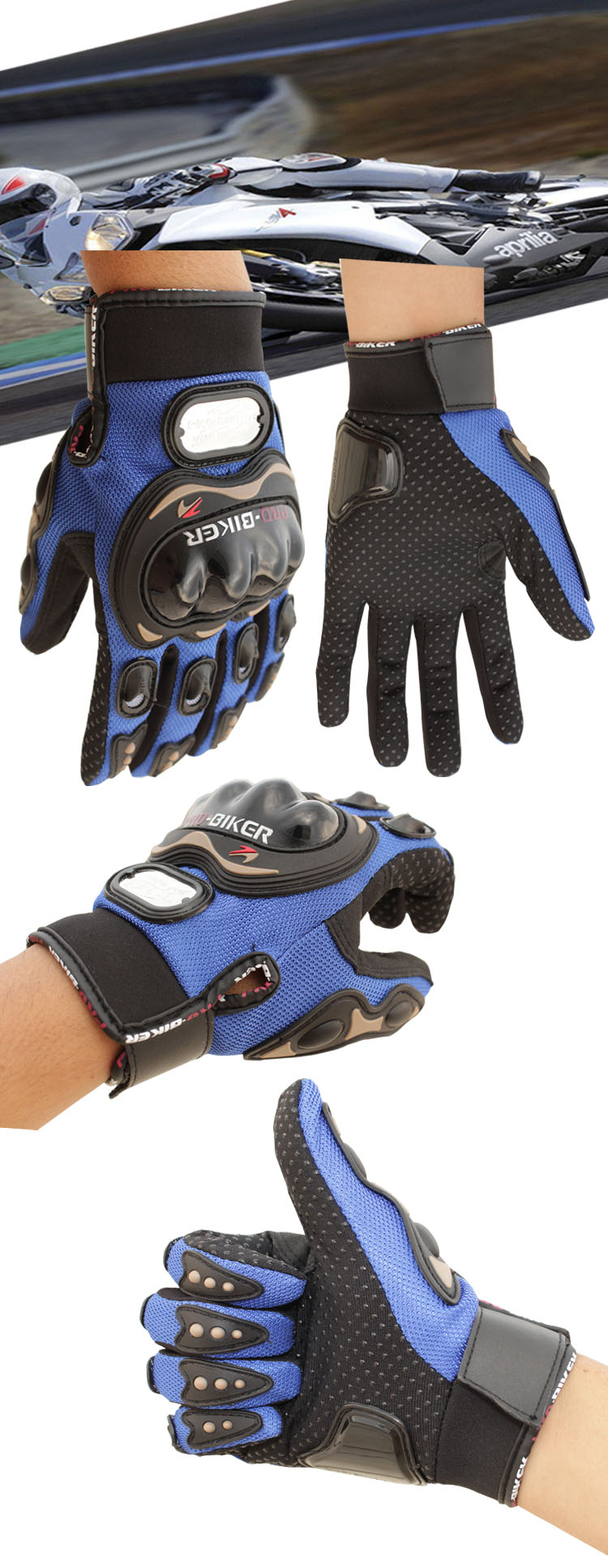 motorcycle gloves color3