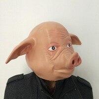 Halloween Pig Mặt Nạ Giáng Sinh Múp Biểu Diễn Múa Pig Mặt Mask đối với Halloween Party Tạo Ra Hạnh Phúc và Vui Bầu Không Khí