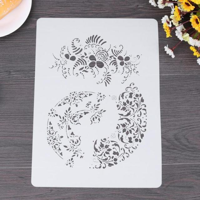 Us 1 18 27 Off Diy Craft Mandala Stencils For Walls Painting Scrapbooking Stamping Stamp Album Decorative Embossing Paper Card Flower Template In
