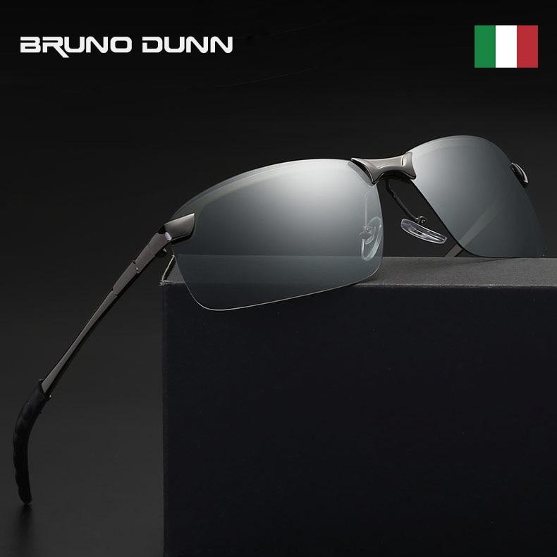 Bruno Dunn Men Photochromic Polarized Sunglasses 2