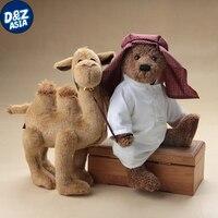 Плюшевый мишка Арабская кукла с плюшем; желтовато коричневый мягкий игрушечный плюшевый медвежонок гигантские kawaii Плюшевые чучела кукла р