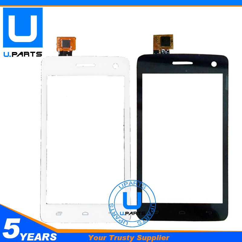 Wholesale Black Or White Sensor Lens For Fly IQ4490i Era Nano 10 IQ 4490i Touch Screen Digitizer Glass Panel 2PC/Lot