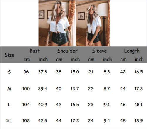 Stylowa Hot sprzedaż kobiety White Lace Silk Satin V-neck Lace-up luźna koszulka z krótkim rękawem Top Lady lato wygodne ubrania S-XL