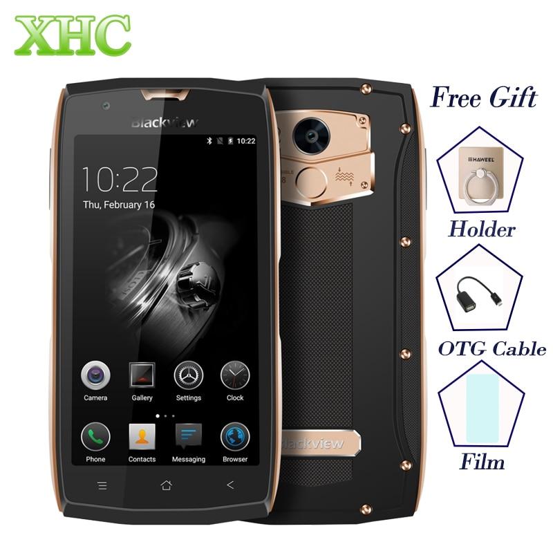 "Blackview BV7000 Pro Android 6,0 мобильных телефонов IP68 Водонепроницаемый 64 ГБ Touch ID 5,5 ""FHD 4 г LTE MTK6750T восьмиядерный 3 ГБ смартфон"