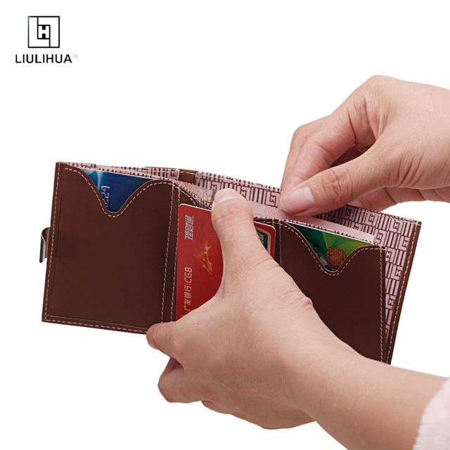 Hot new products mens leather wallets