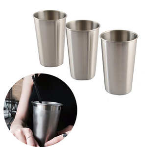 Mugs Glasses Travel-Cup Drinking-Glass Stainless-Steel Outdoor Cups New Whiskey And Shot