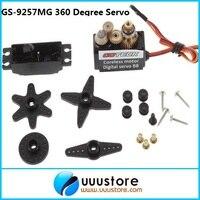 GS 9257MG 360 Degree Servo Metal Gear Digital RC Servo with external potentiometer for PTZ DIY dedicated