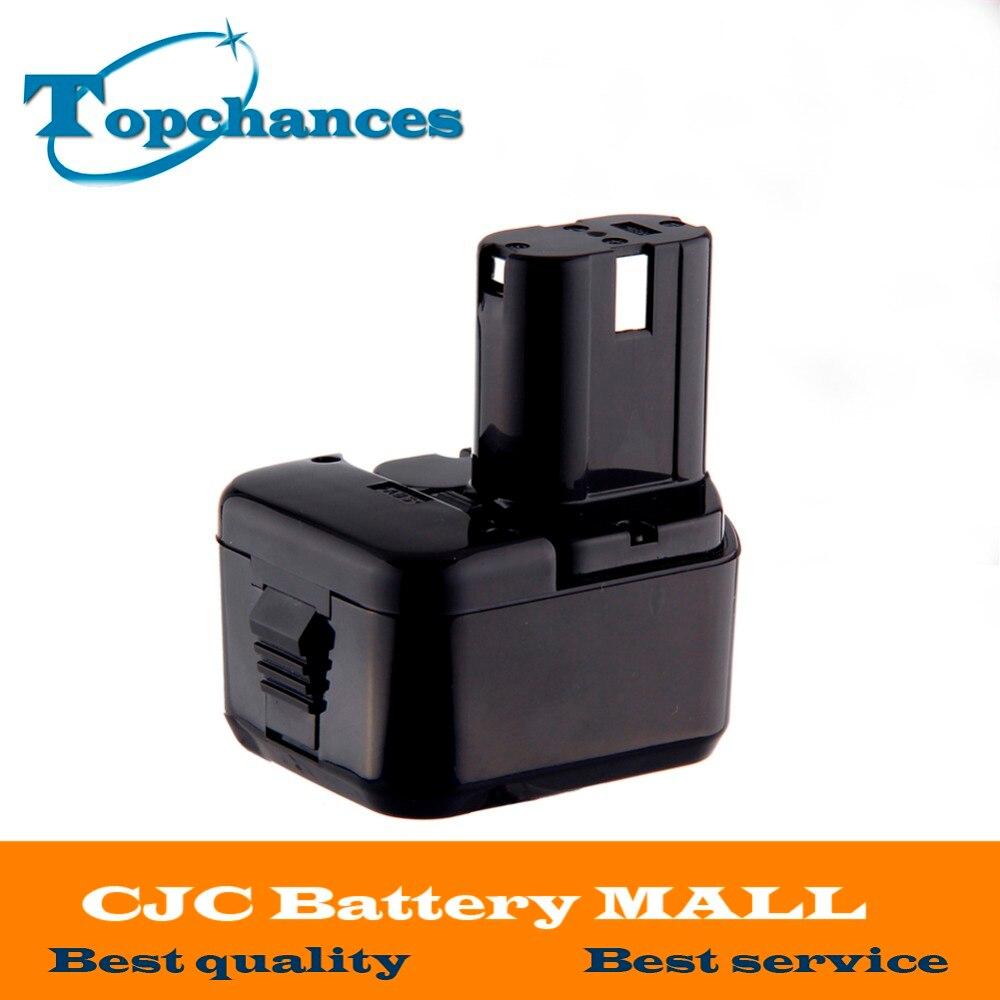 High Quality 12V 2000mAh NI-CD Battery for Hitachi EB1220BL EB1214S EB1212S WR12DMR CD4D DH15DV C5D аккумулятор для hitachi bcc1215 eb1214l eb1214s eb1220bl eb1224 2000mah cameronsino