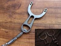 Titanyum Alaşımlı CNC Üretim Kartı Topu Sapan Açık Spor EDC Araçları
