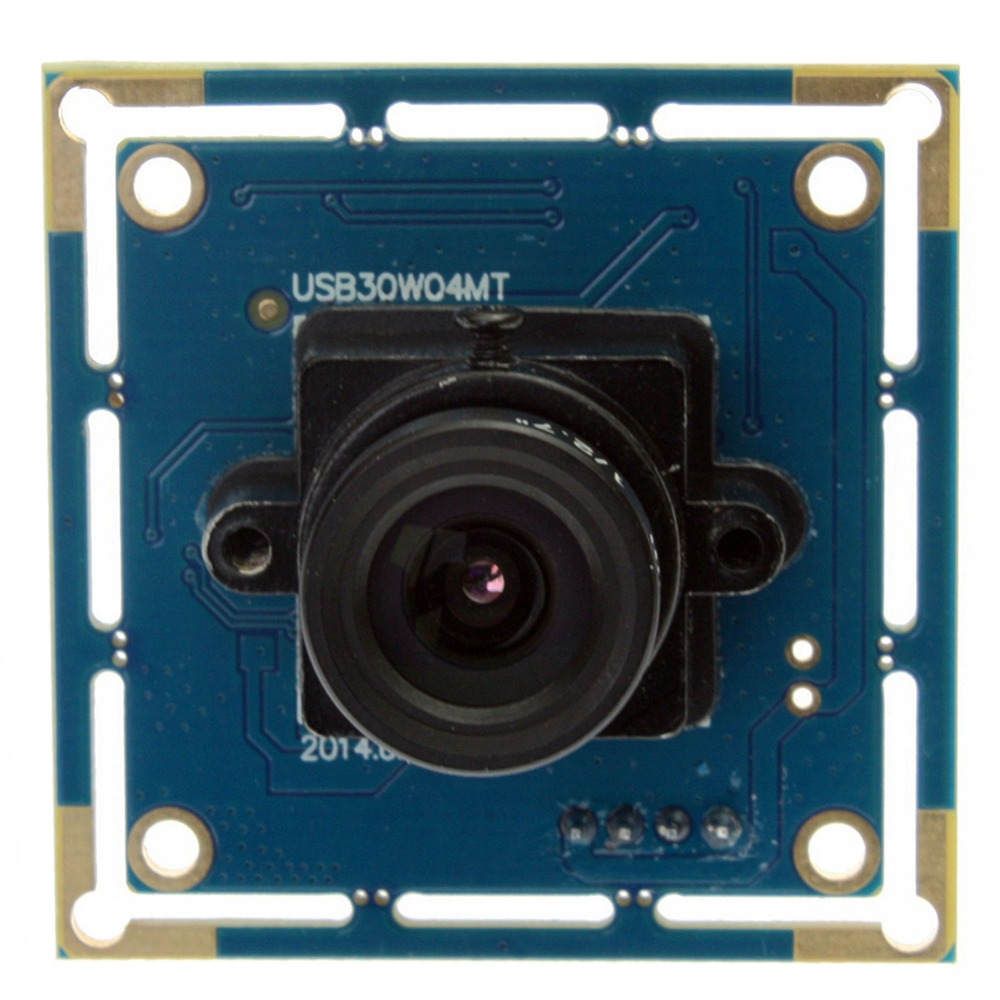 ELP 640X480 300K Pixels CMOS OV7725 MJPEG 30FPS micro mini usb camera board for android linux Windows MAC OS ELP-USB30W04MT-L80