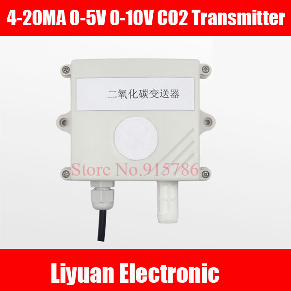 4 20mA Carbon Dioxide Transmitter Industrial Precision 0 5V CO2 Sensor CO2 Collector 0 10V