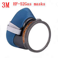 3M HF-52 respirator gas mask New Listing Upgraded version 3200 chemical gas mask Painting pesticide industrial safety gas mask