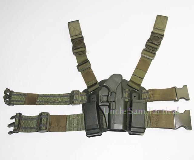 Tactical CQC Glock Leg Holster Military Combat Thigh Holster Hunting Shooting Gun Holsters For Glock 17 19 22 23 31 32 4