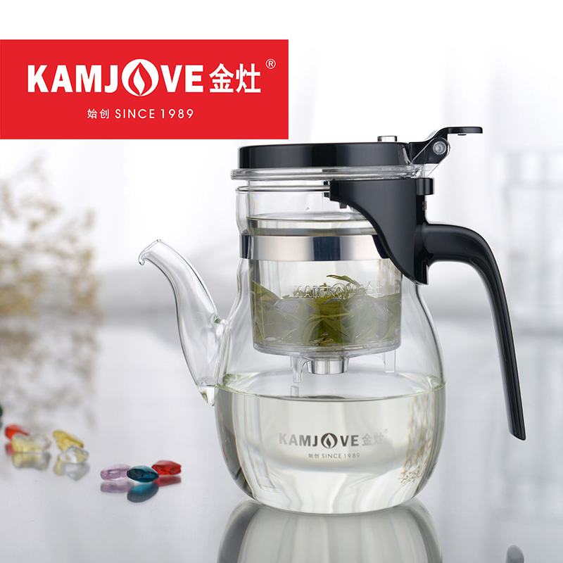 600ml 900ml Kamjove Art Tea Cup Elegant Tea Pot large Capacity Kungfu Teapot Convenient Teacup Office