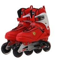 Хорошее качество профессиональных роликах для взрослых роликовых коньках обувь Высокое качество Бесплатная Стиль катание Patins Хоккей конь