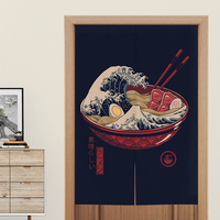 Japanese Style decorative door curtains fabric cloth home screens partition bathroom sushi kitchen restaurant curtains