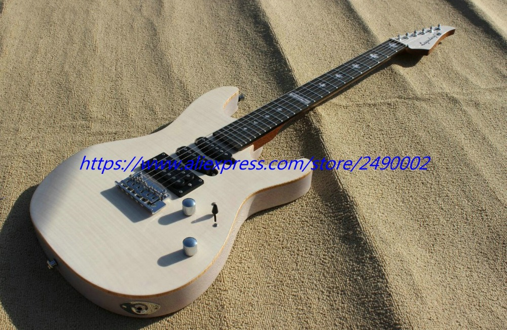 best electric guitar see thru fingerboard chrome parts locking tuners high quality. Black Bedroom Furniture Sets. Home Design Ideas
