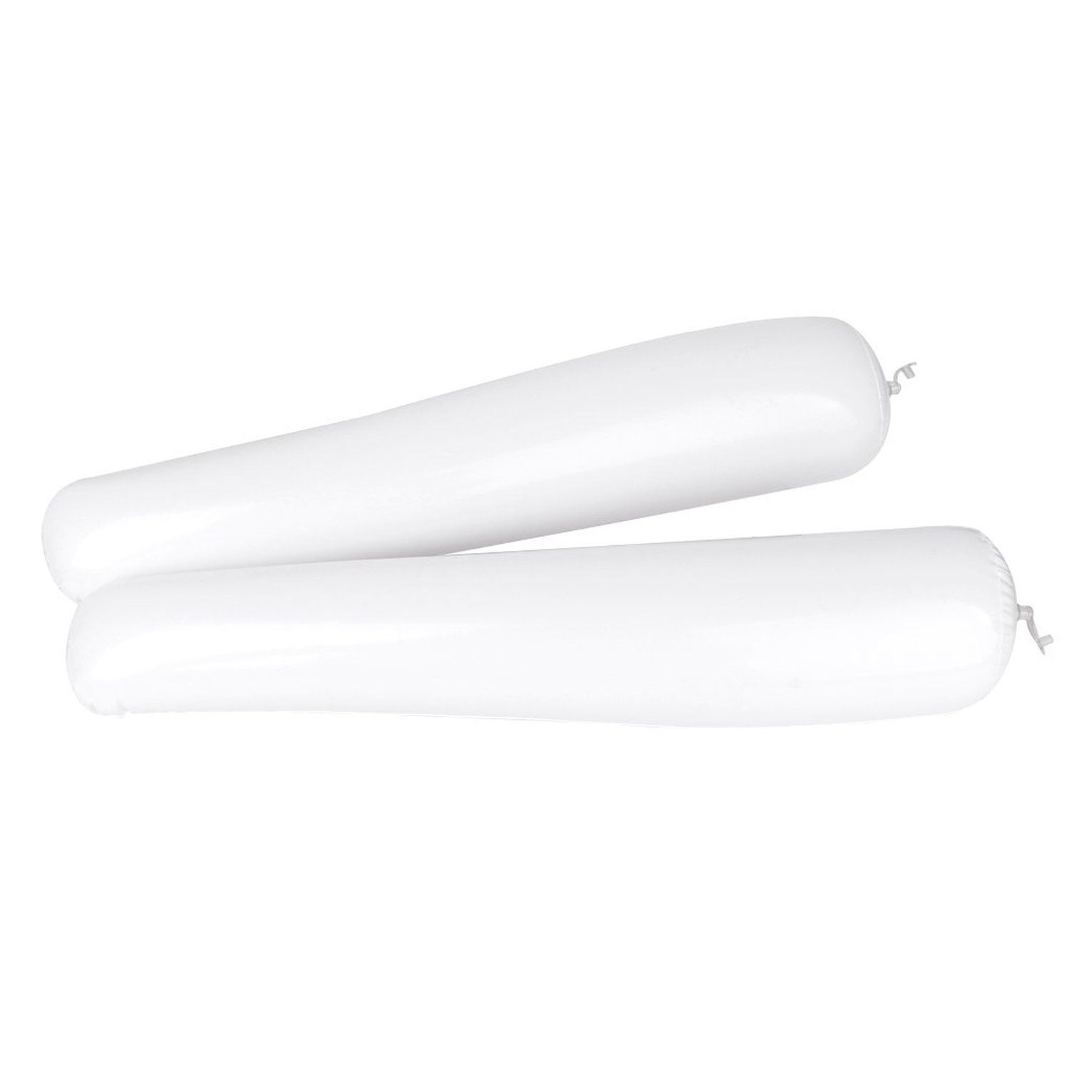 ASDS 1 pair of White inflatable Shoe Support in plastic inflatable Shoe brace with Boots in plastic Shoehorns 50cm - White camewin 0804 elastic wrist brace wrap support yellow pair