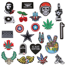 1 PC Embroidered Patch Decoration Parches Bordados Iron on Patches for Clothes Stickers For Clothing