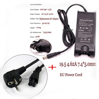 Free Shipping 19 5V 4 62A EU Plug For Dell Inspiron PA 10 1545 N4010 N4030