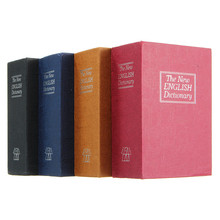 NEW Home Storage Safe Box Dictionary Book Bank Money Cash Jewellery Hidden Secret Security Locker With Key Lock Drop Shipping