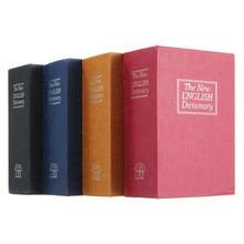 Yeni ev depolama kasa sözlük kitap banka para nakit mücevher gizli gizli güvenlik soyunma tuş kilidi ile Drop Shipping