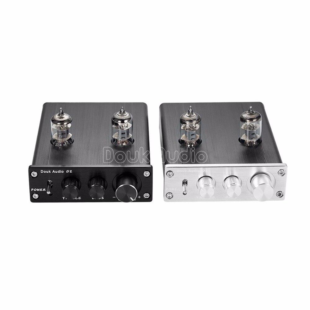 Plata nobsound HiFi 6j1/vac/ío Tubo preamplificador est/éreo preamplificador Digital Agudos /& Bass Tone Control