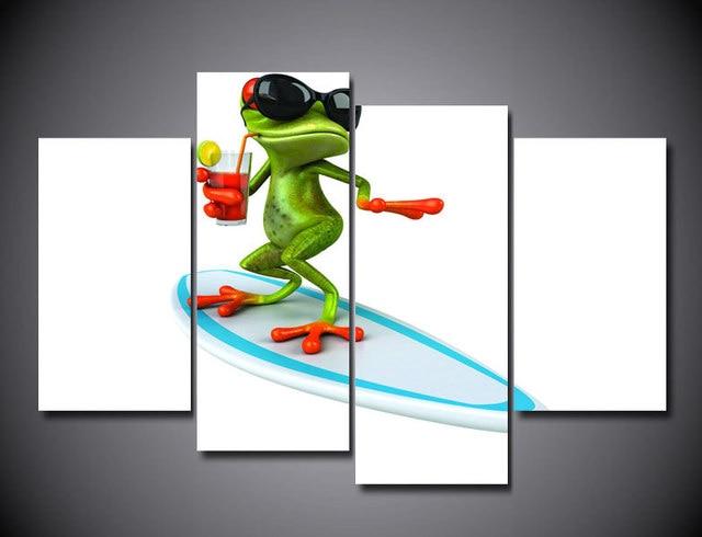 Gemütlich Färbendes Bild Eines Frosches Fotos ...
