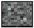 20 UNIDS Nail Art 30.5x25 cm DIY Belleza Imagen Polaco Stamping Plantillas de Moda Cordón de La Flor Del Hueso Del Cráneo plantillas XXL01-05