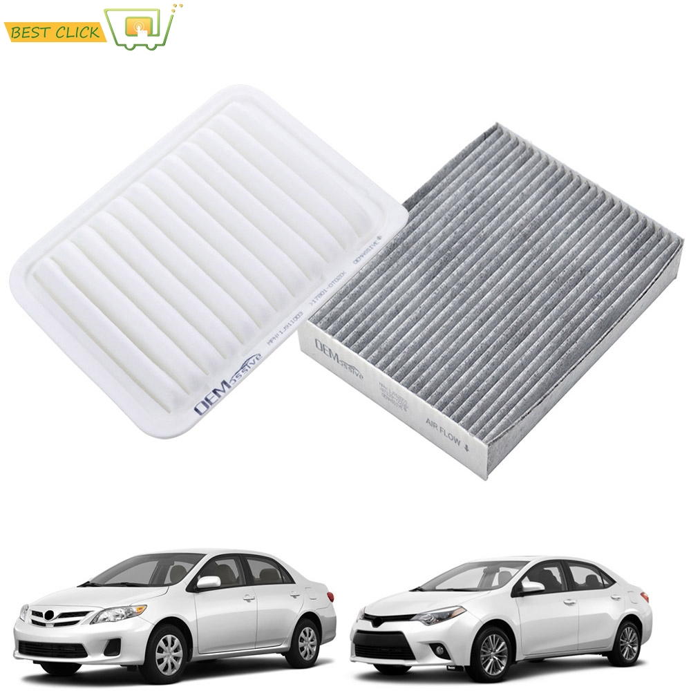 AIR FILTER CABIN FILTER COMBO FOR 2015 2016 2017 2018 2019 HONDA FIT