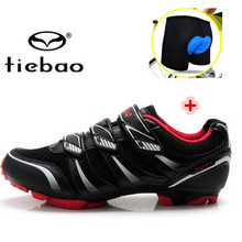 Tiebao MTB shoes add underwear mountain bike cycling mountain bike shoes Riding Professional zapatillas bleta mtb hombre 1428-1
