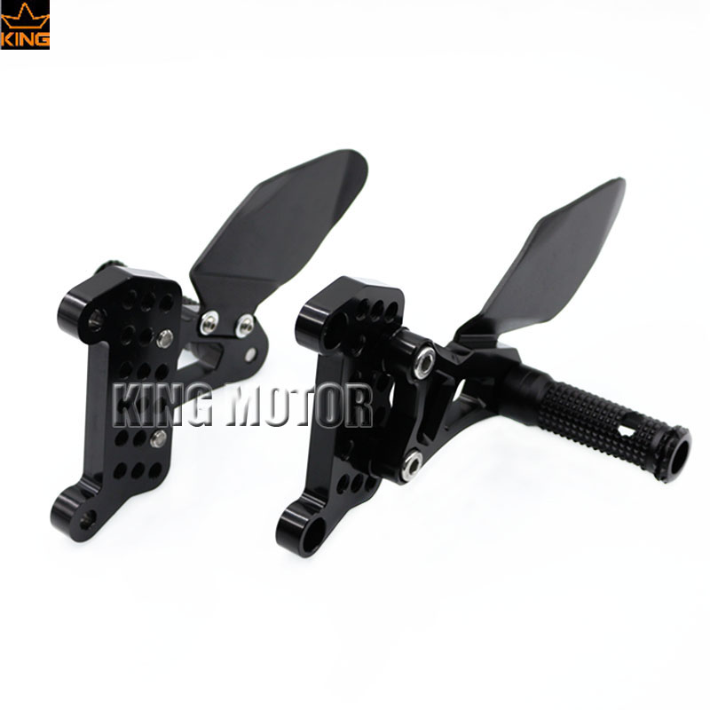 For MV Agusta F4/R F4 312/750/1000 Motorcycle Accessories Foot Peg Foot Control Kit Rearset Rear Sets Black morais r the hundred foot journey