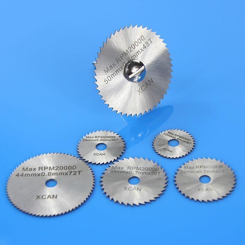 7 pcs HSS Rotary Tools mini Circular Saw Blades Cutting Discs Mandrel Cutoff Cutter Power tools