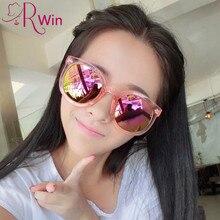 Marcas de Diseño clásico Ronda Polarizado gafas de Sol de Las Mujeres de Gran Tamaño Flechas gafas de Sol UV400 gafas De Sol Oculos Feminino