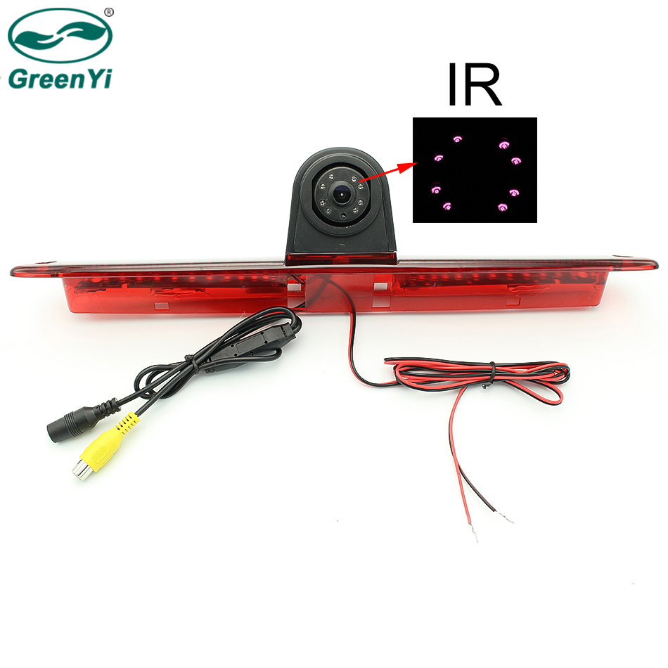 GreenYi Auto Night Vision Reverse Backup CCD Glass Lens Car Rear View Camera for Mercedes Benz