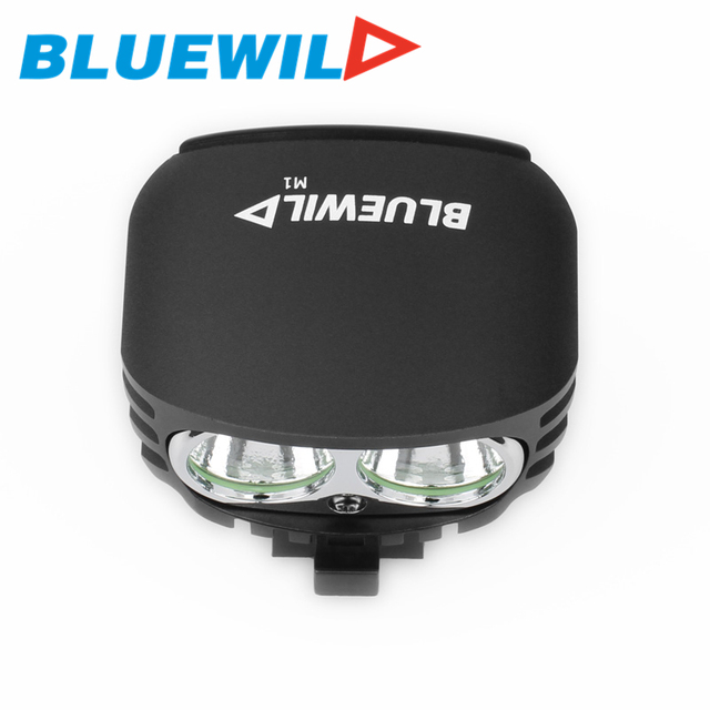 BLUEWILD M1 Waterproof Bicycle Light CREE T6 XM-L2 LED 2000 lumen Cycling Lamp Bike Light 10400mAh Power Bank Charge for iPhone