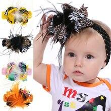 Naturalwell привидение Хэллоуин Мультфильм бант для волос маленькая девочка лента для волос детские заколки-пряжки детские праздничные аксессуары для волос HB193D