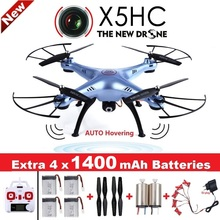 SYMA X5HC 4-CH 2.4 ГГц 6 оси RC Quadcopter с 2MP HD Камера Авто зависания headless режим Радиоуправляемый Дрон SYMA X5SC обновленная версия