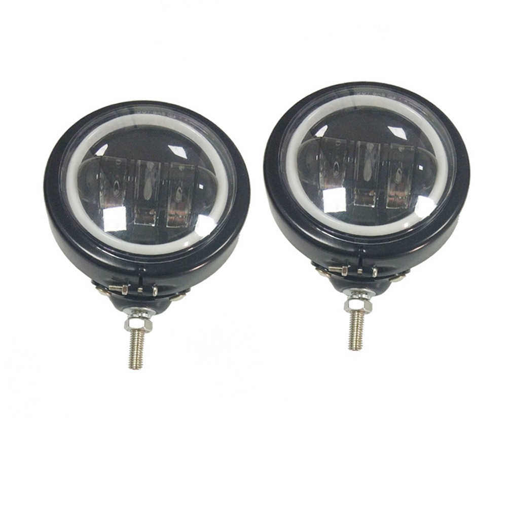 4-1/2 4.5 inch led fog lights Passing Lights DRL 4.5 inch housing bucket for Harley motorcycle
