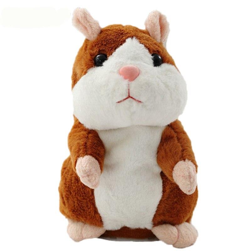 2017 Talking Hamster Mouse Pet Jucărie de pluș fierbinte Cute Sound - Jucării moi și plușate