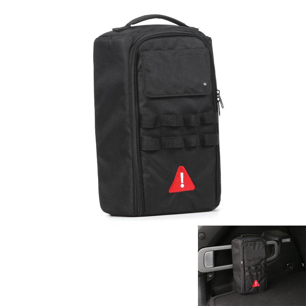 Wrangler JK roll bar Storage Bag gabbia con multi tasche e organizer /& cargo borsa bisaccia porta attrezzi