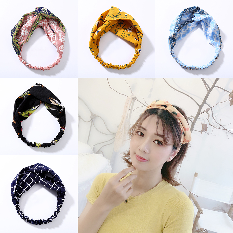 2019 Fashion Fashion Knotted Glitter Hairband For Women Lady Wide Gold Black Stripe Headband Hair Hoop Headdress Headwrap Hair Accessories Apparel Accessories Girl's Hair Accessories