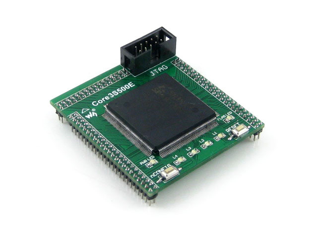 module XILINX FPGA XC3S500E Spartan-3E Evaluation Development Core Board + XCF04S FLASH support JTAG= Core3S500E waveshare xc3s250e xilinx spartan 3e fpga development board 10 accessory modules kits open3s250e package a