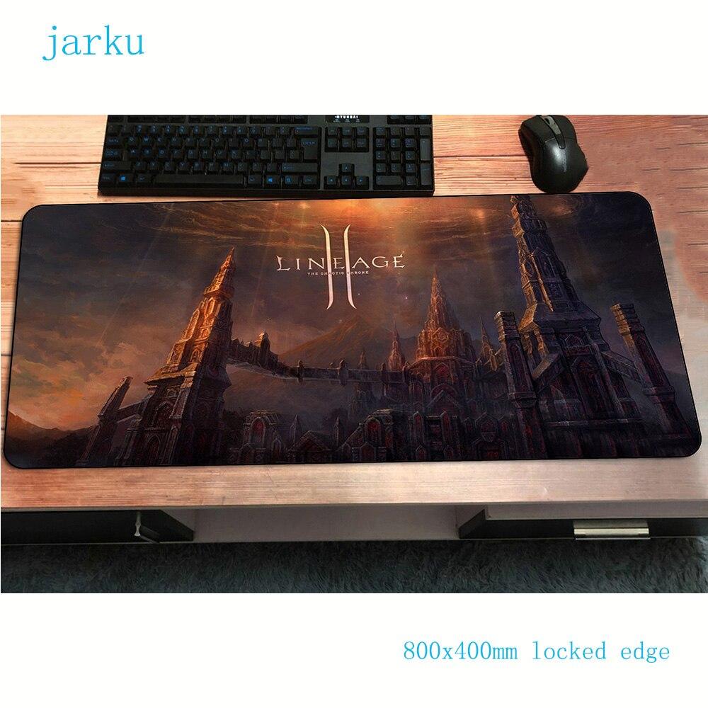 Игровой коврик для мыши lineage 2, игровой коврик для мыши 800x400x3 мм, аксессуары для ноутбука, эргономичный коврик для мыши|Коврики для мышей|   | АлиЭкспресс