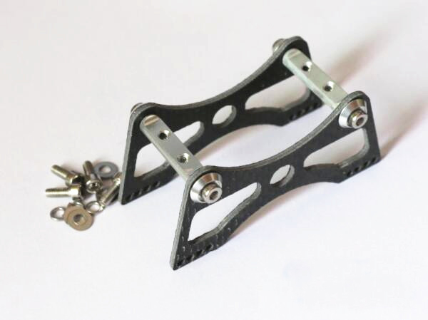 3003 Servo Steering Gear Support Bracket Carbon Fiber Mounting Seat for DIY RC Boat Accessorices