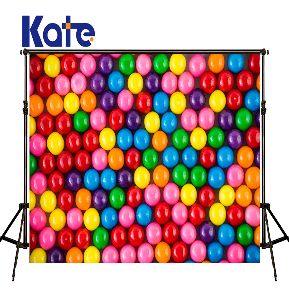 KATE Photography Backdrop Colorful Photo Background Photo Background Ball Children Photo Backgrounds Balloon Studio Backdrop ao058m 2m hot selling inflatable advertising helium balloon ball pvc helium balioon inflatable sphere sky balloon for sale